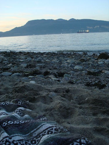 spanish banks at twilight