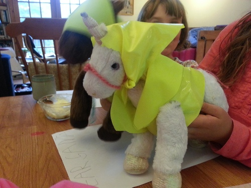 making clothes for horse stuffies